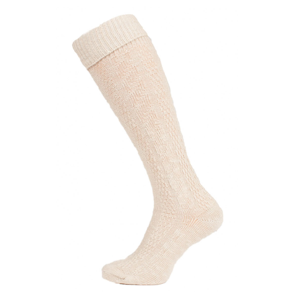 SIMPLE OFF WHITE FEMALE SOCKS