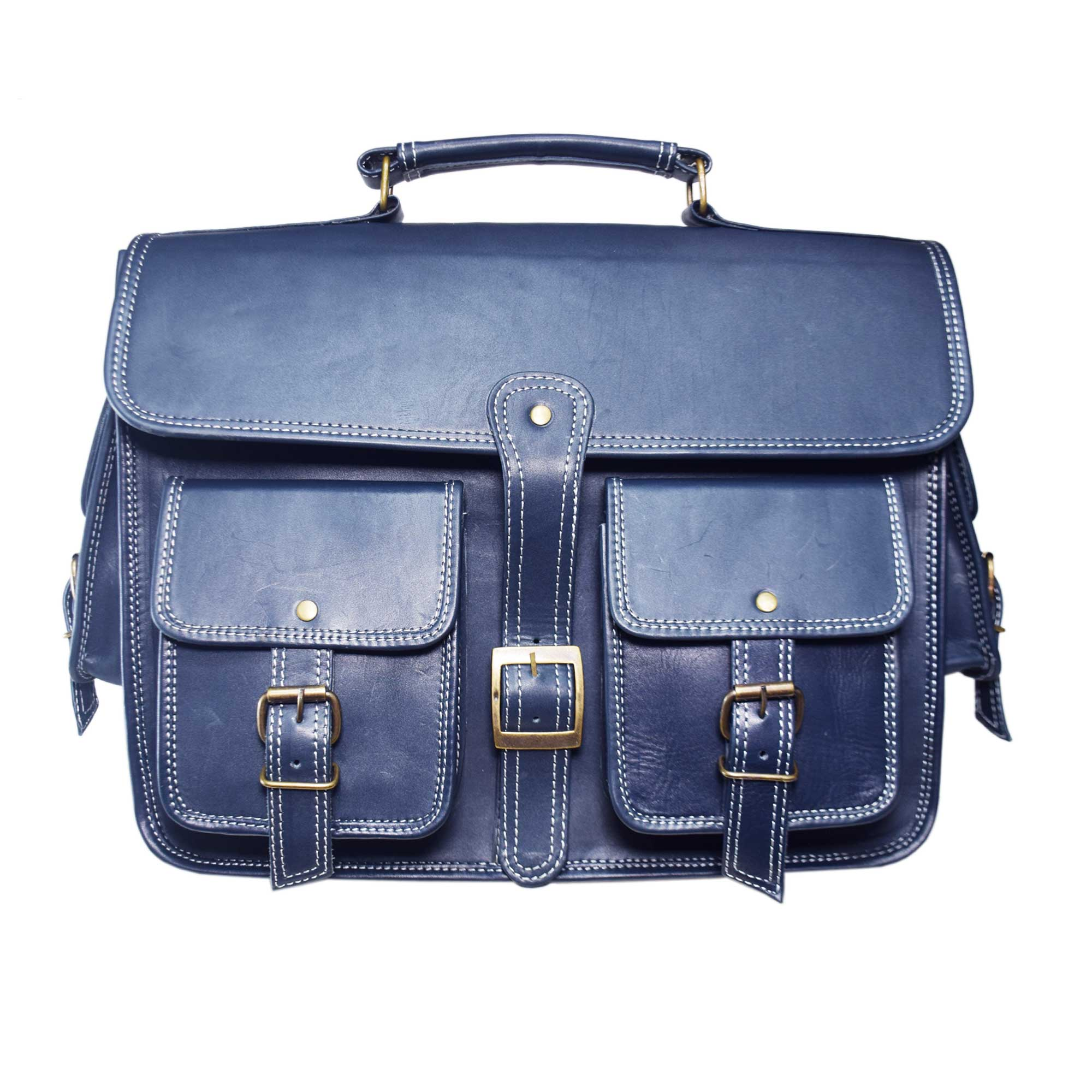 NAVY BLUE LAPTOP / MESSENGER BAG FOR 15