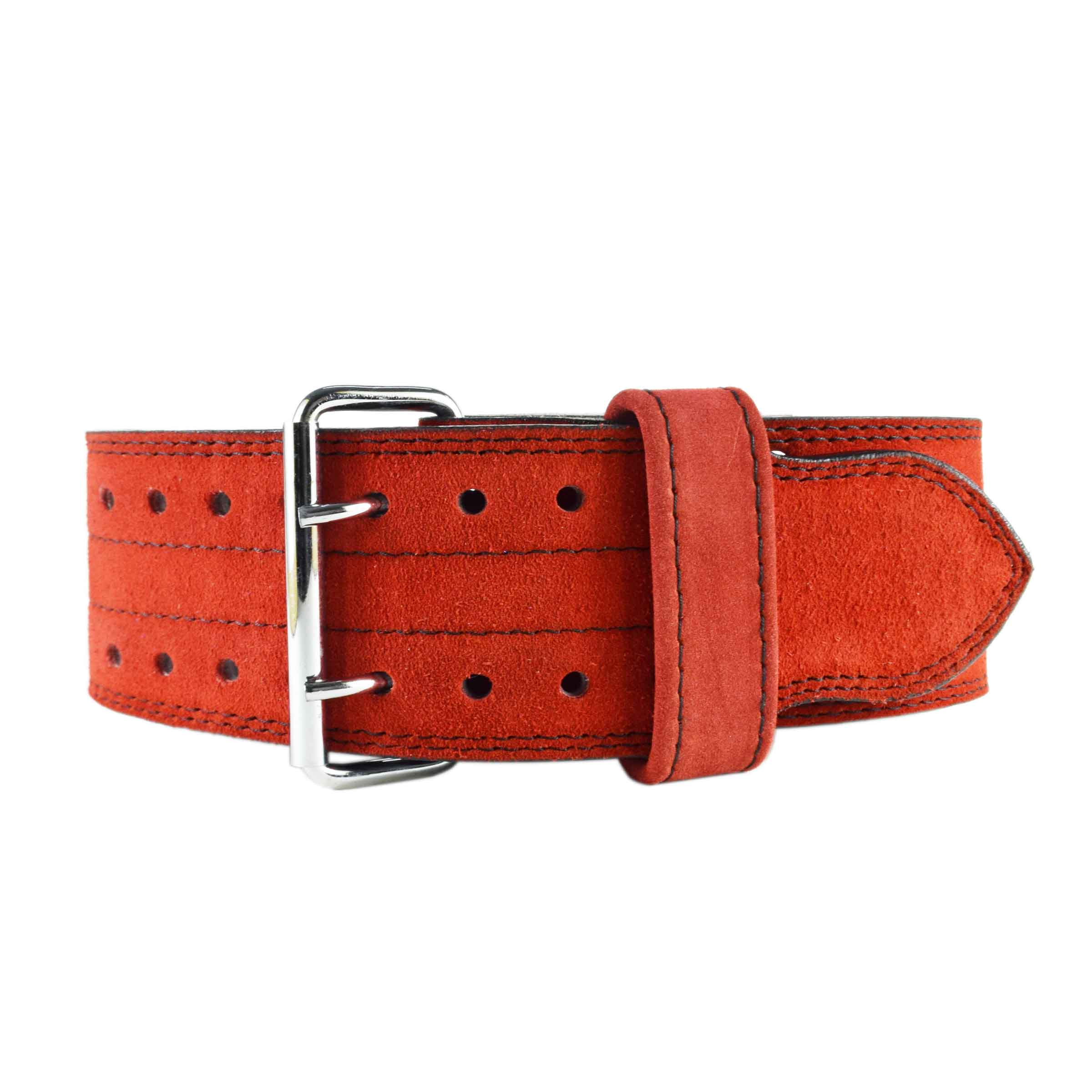 RED WEIGHTLIFTING BELT