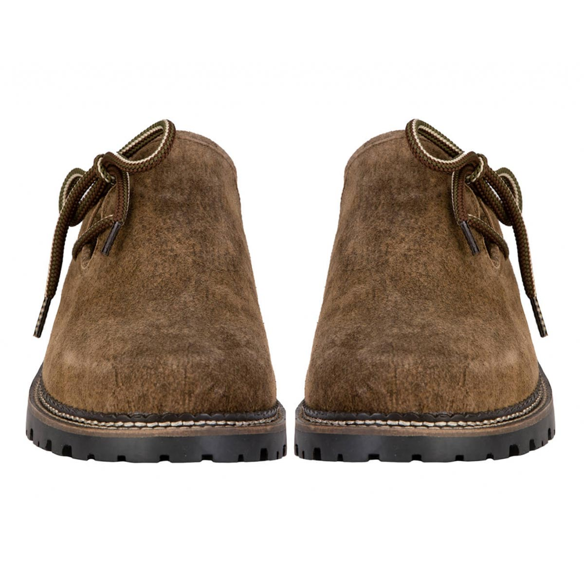BROWN MENS ROUGH STYLE SHOES