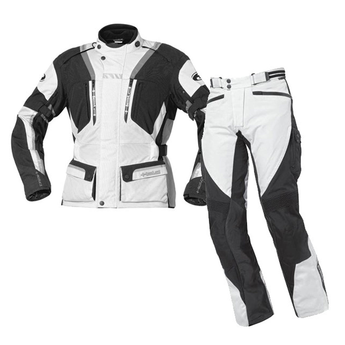 BLACK & WHITE CORDURA SUIT