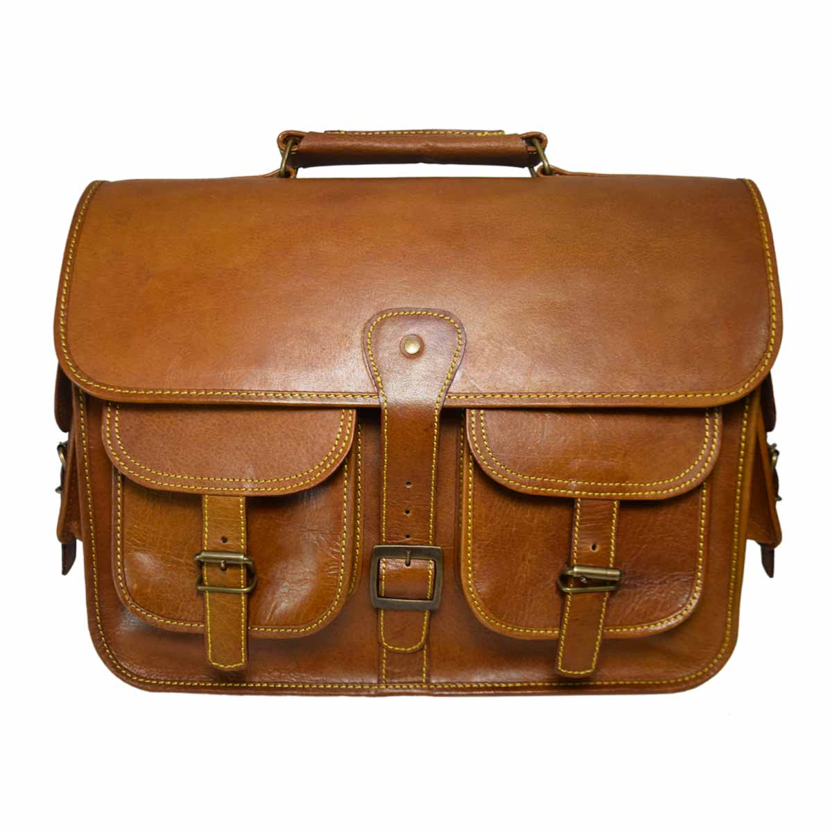 BROWN LAPTOP / MESSENGER BAG FOR 15 INCH LAPTOPS AND ACCESSORIES
