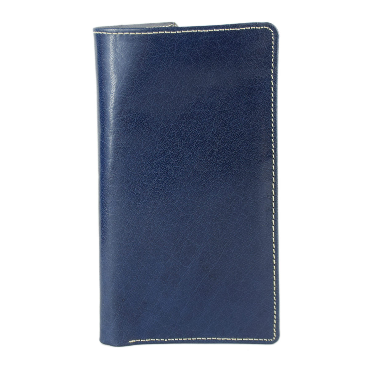 BLUE LONG WALLET WITH SEVERAL POCKETS