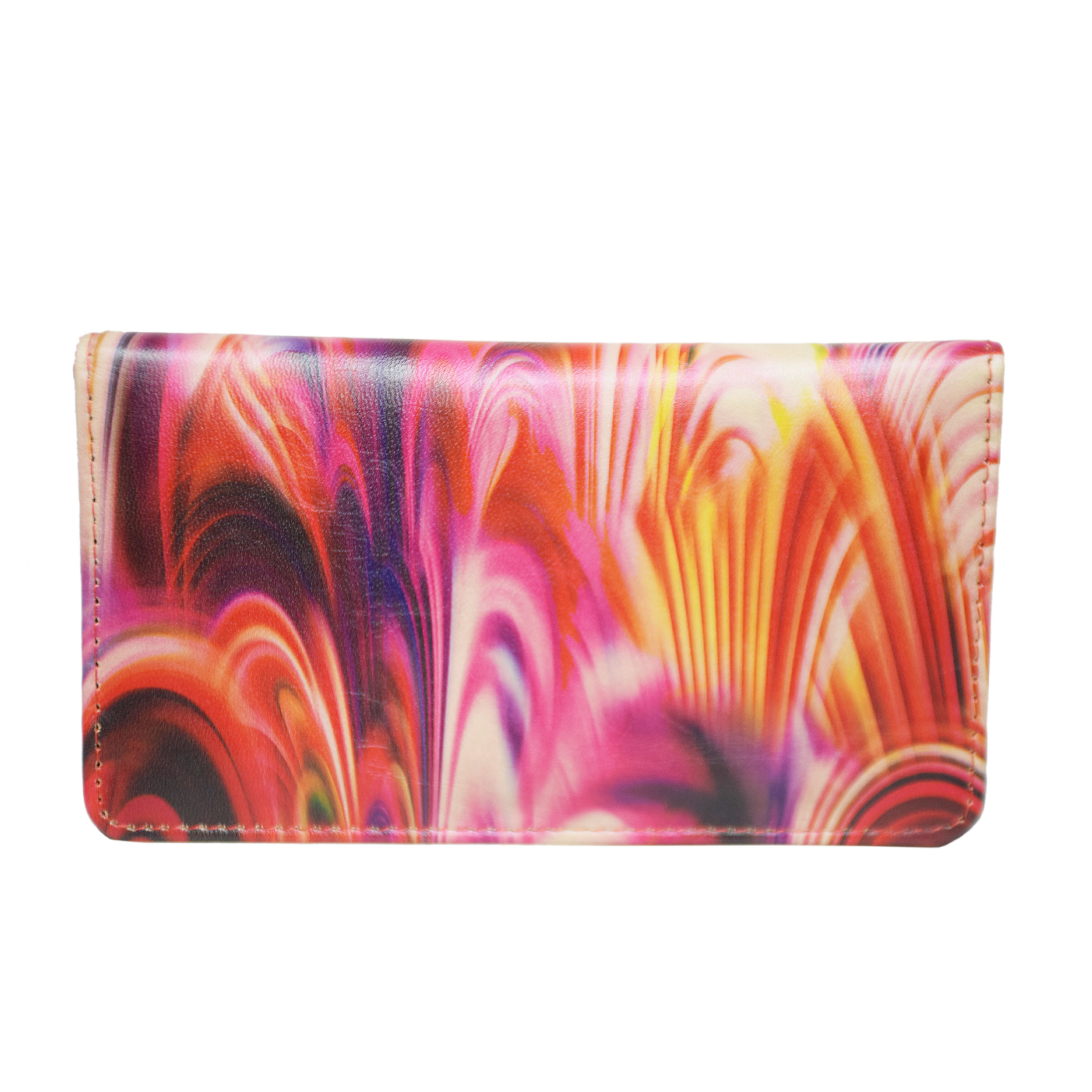 MULTICOLOR LADIES CLUTCH WTIH SEVERAL POCKETS