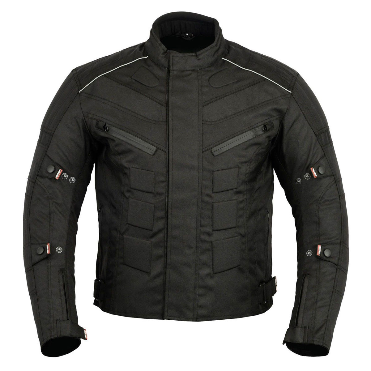 BLACK MEN CORDURA JACKET