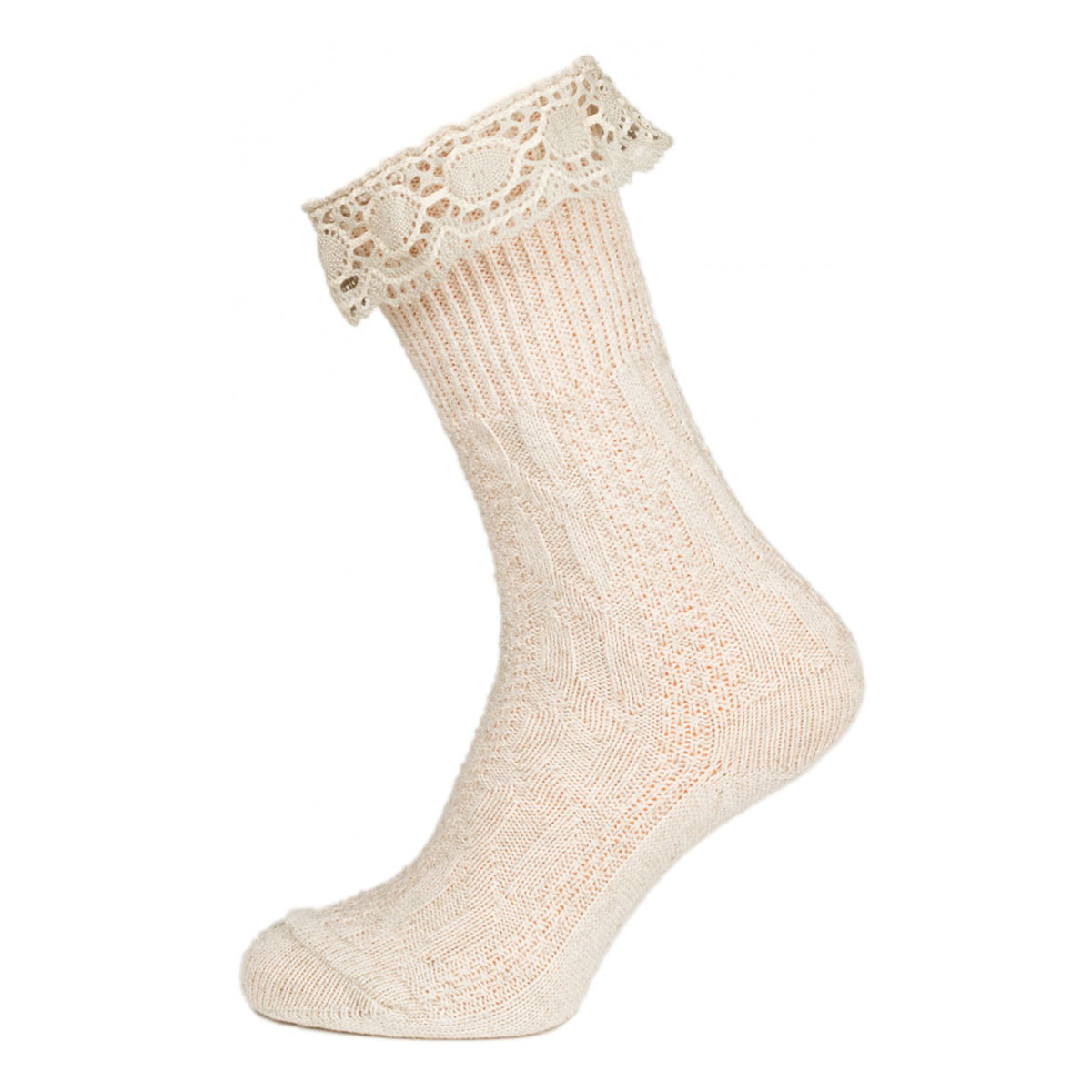 LIGHT BROWN FEMALE SOCKS