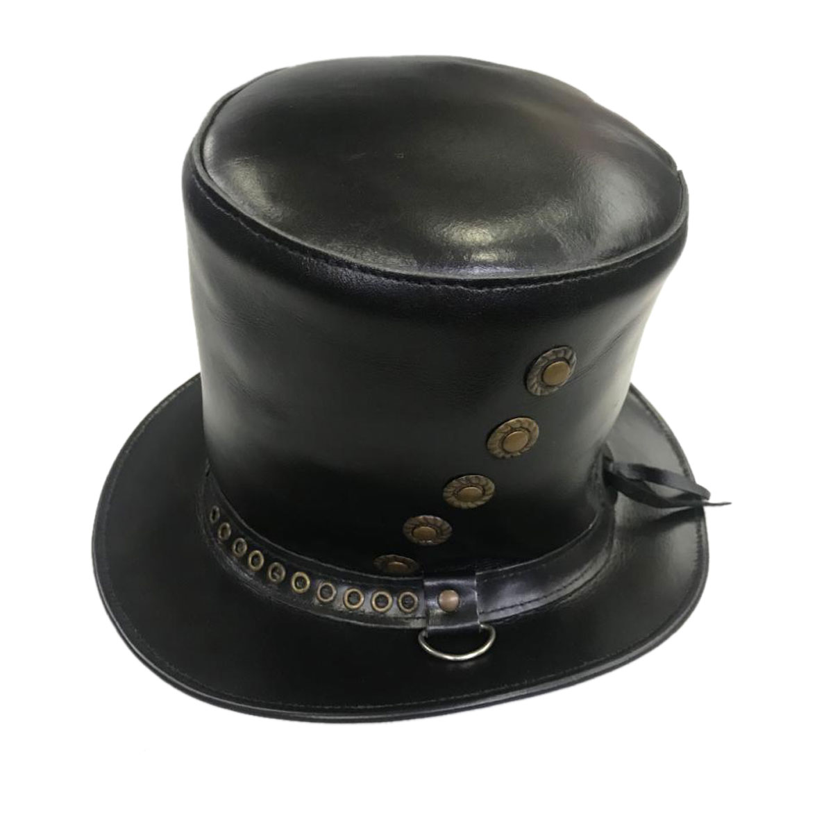 BLACK MAGICIAN LEATHER HAT