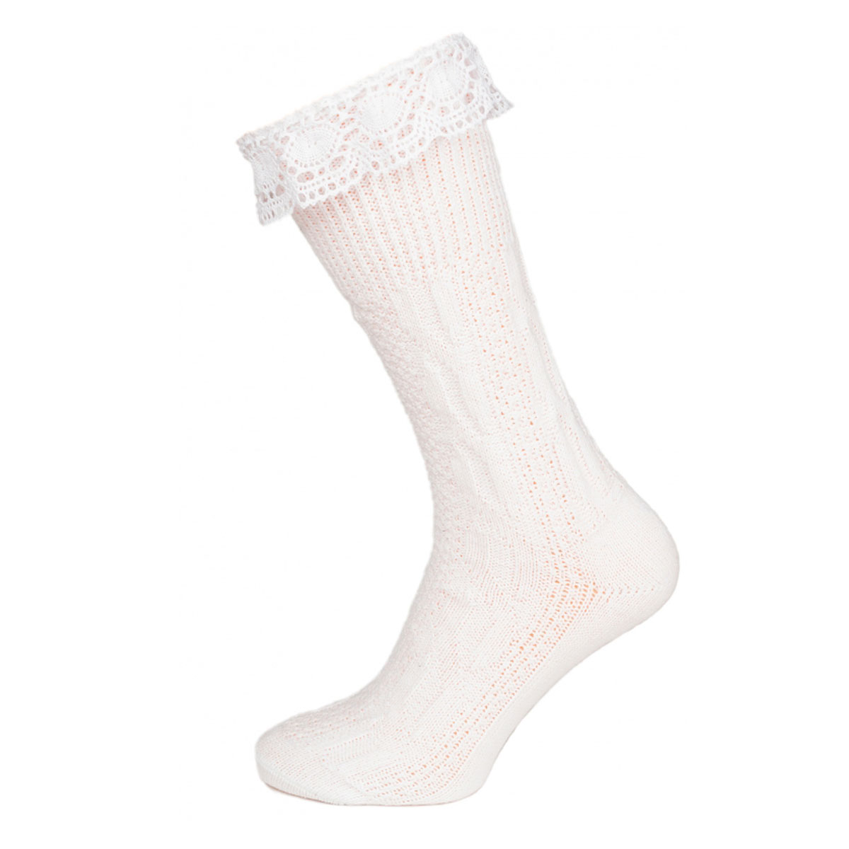 WHITE FEMALE SOCKS