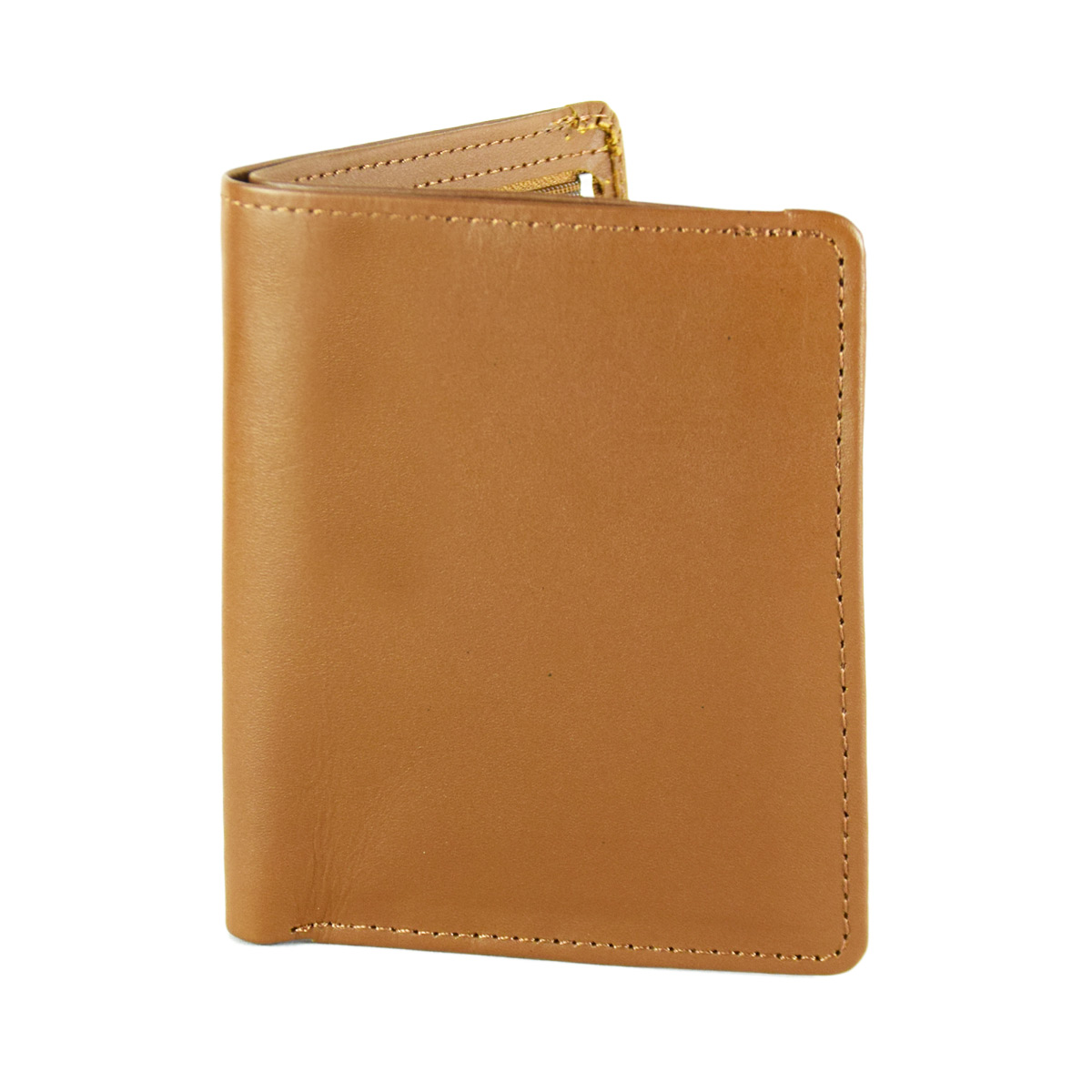 BROWN WALLET WITH SPECIAL COINS POCKET