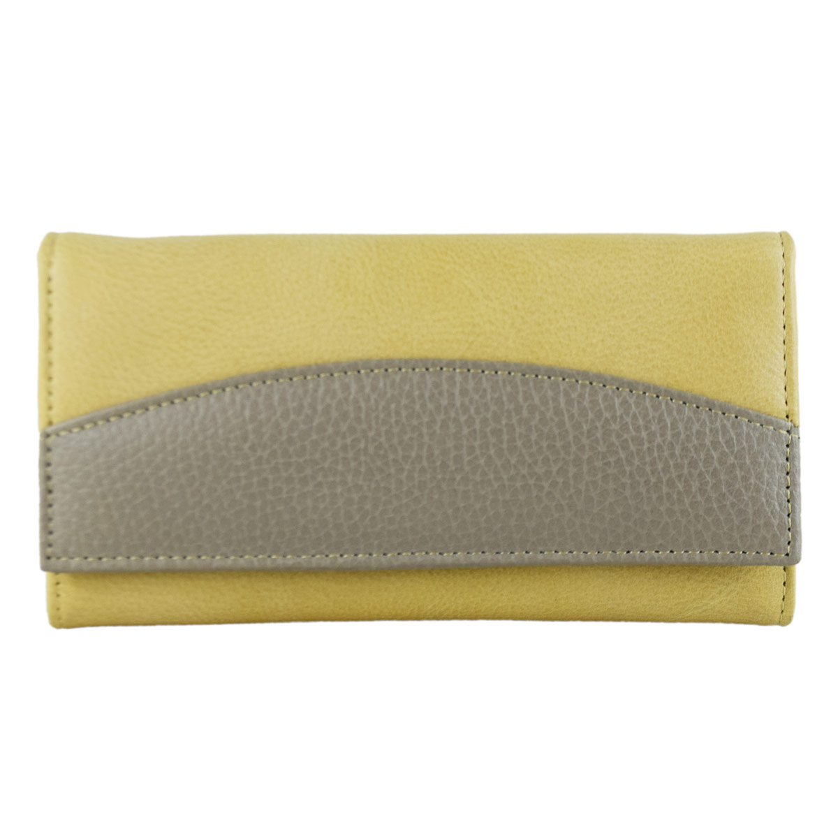 BEAUTIFUL YELLOWISH GREEN LADIES CLUTCH
