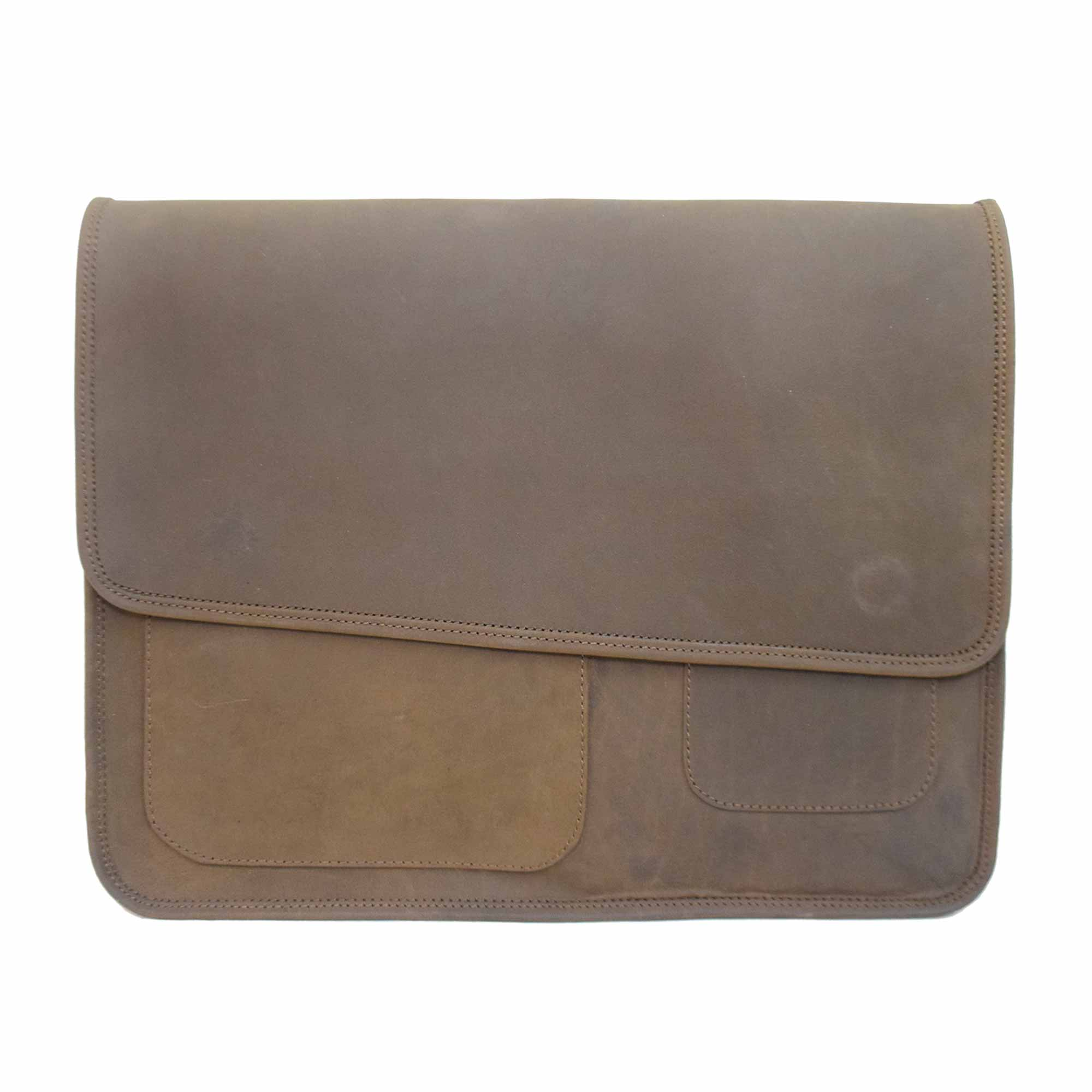 BROWN LAPTOP / MESSENGER BAG FOR 15 INCH LAPTOPS AND OTHER ACCESSORIES WITH UNIQUE SHOULDER STRAP