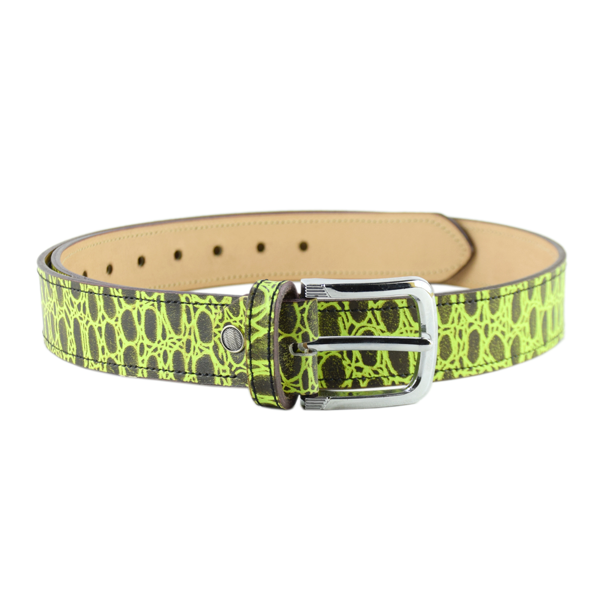 Printed Casual/Fancy Leather Belt 1.5""