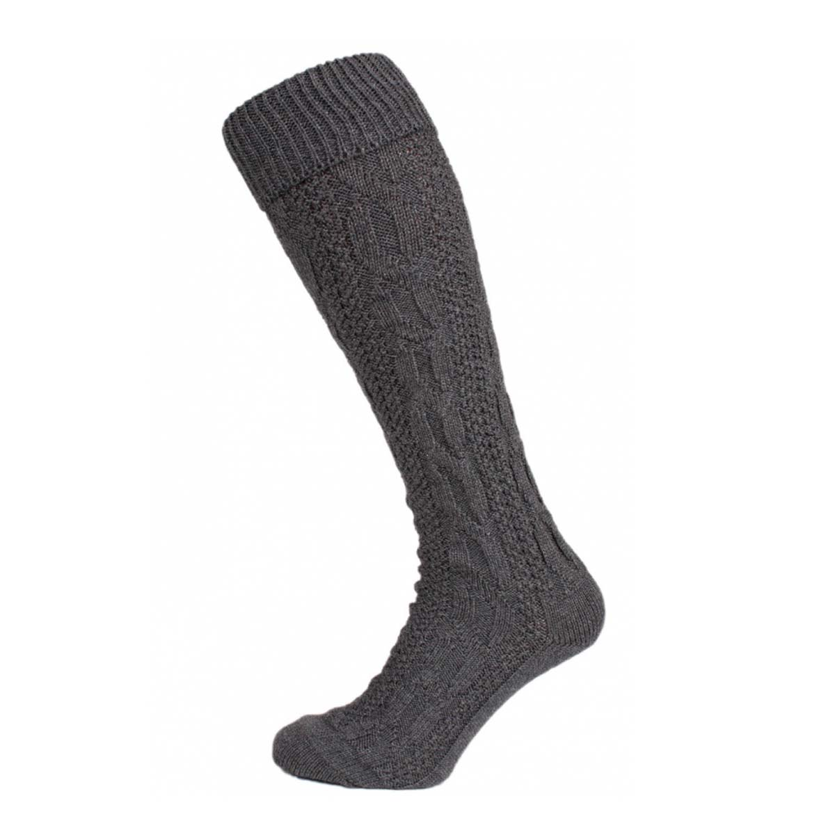 DARK GREY LONG MEN SOCKS