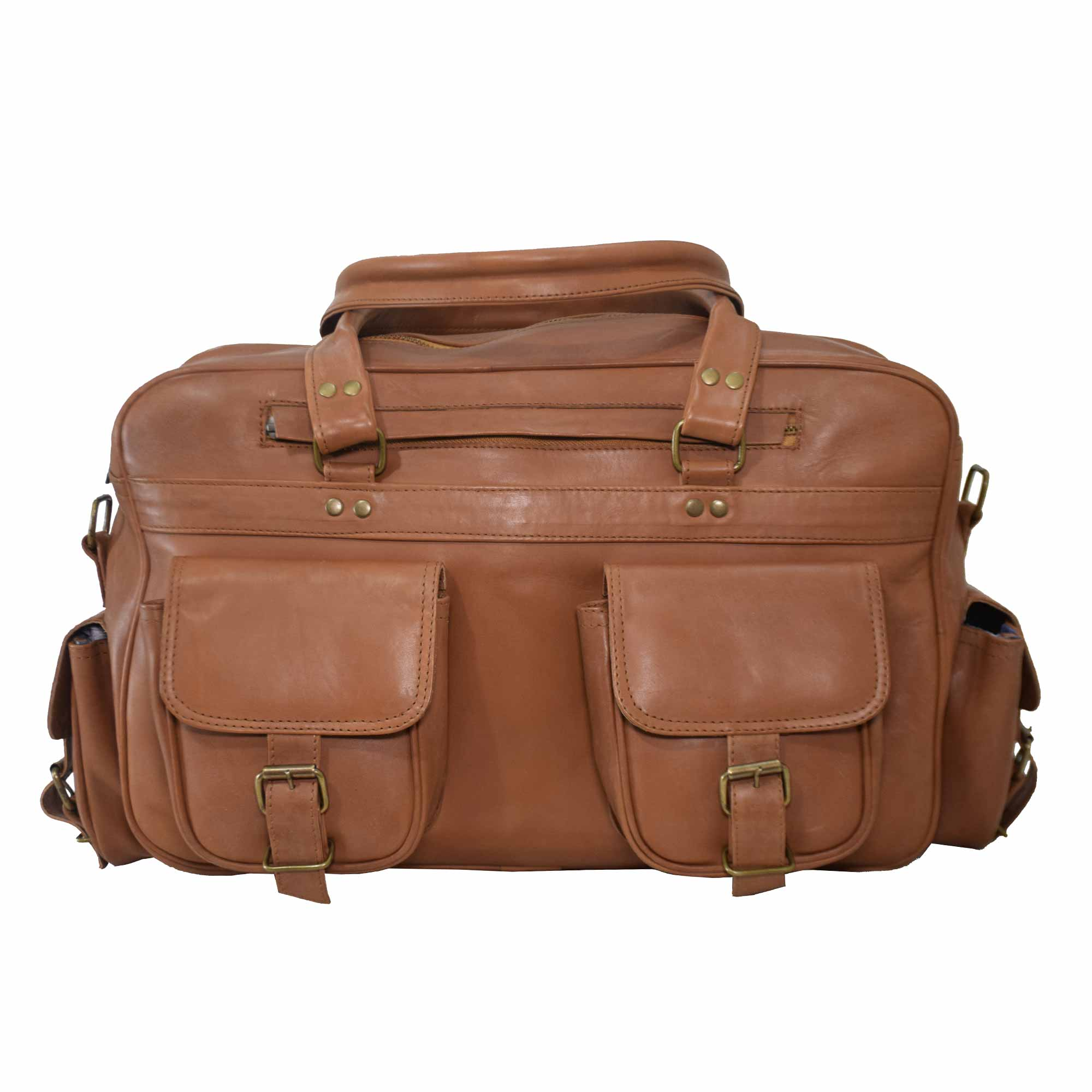 BROWN LAPTOP / MESSENGER BAG FOR 15 INCH + LAPTOPS