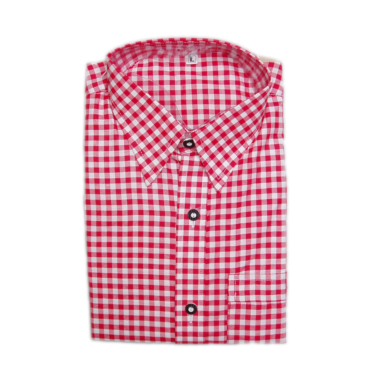 PINK MENS CHECK SHIR