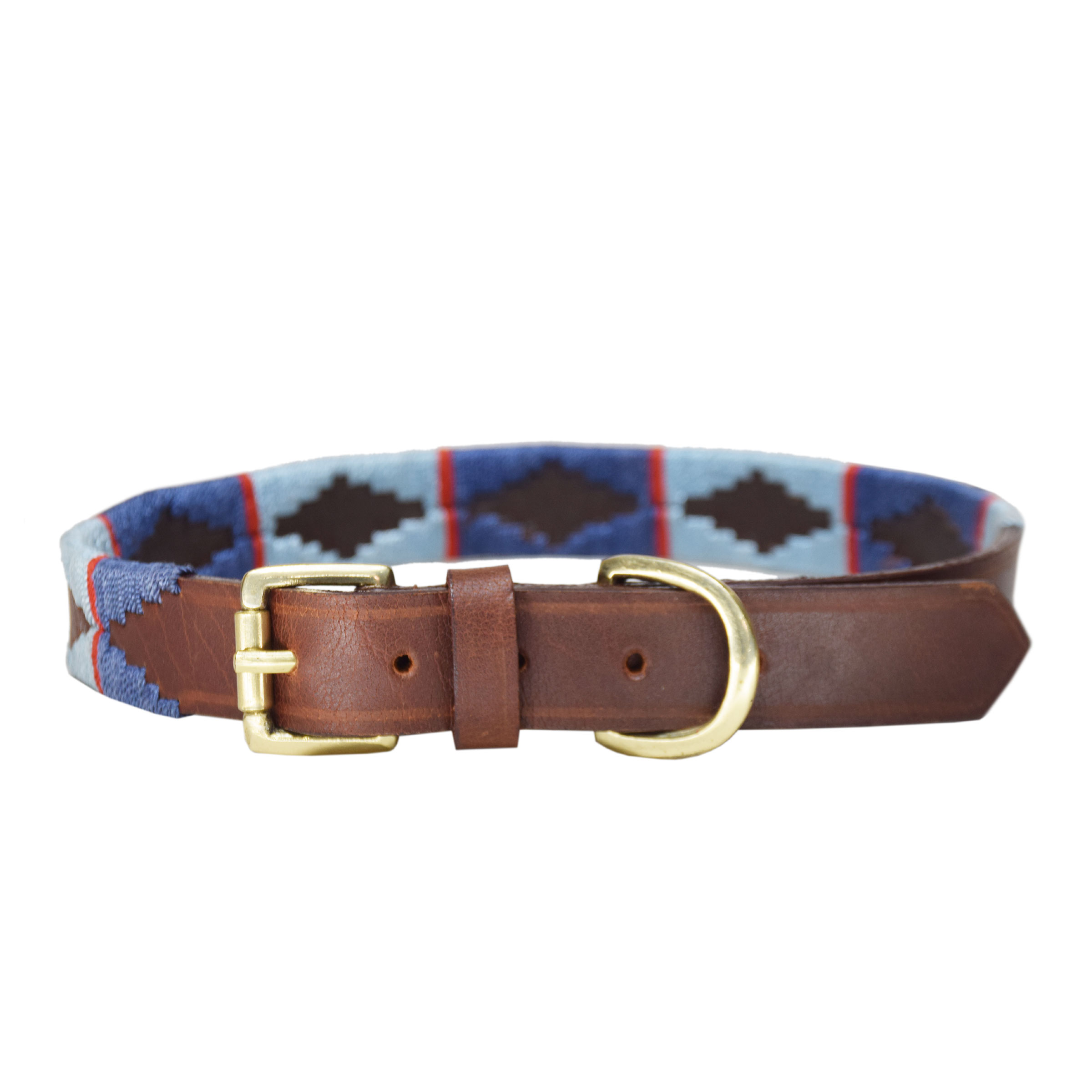 BROWN PET POLO COLLAR BELT FOR PETS 6MM
