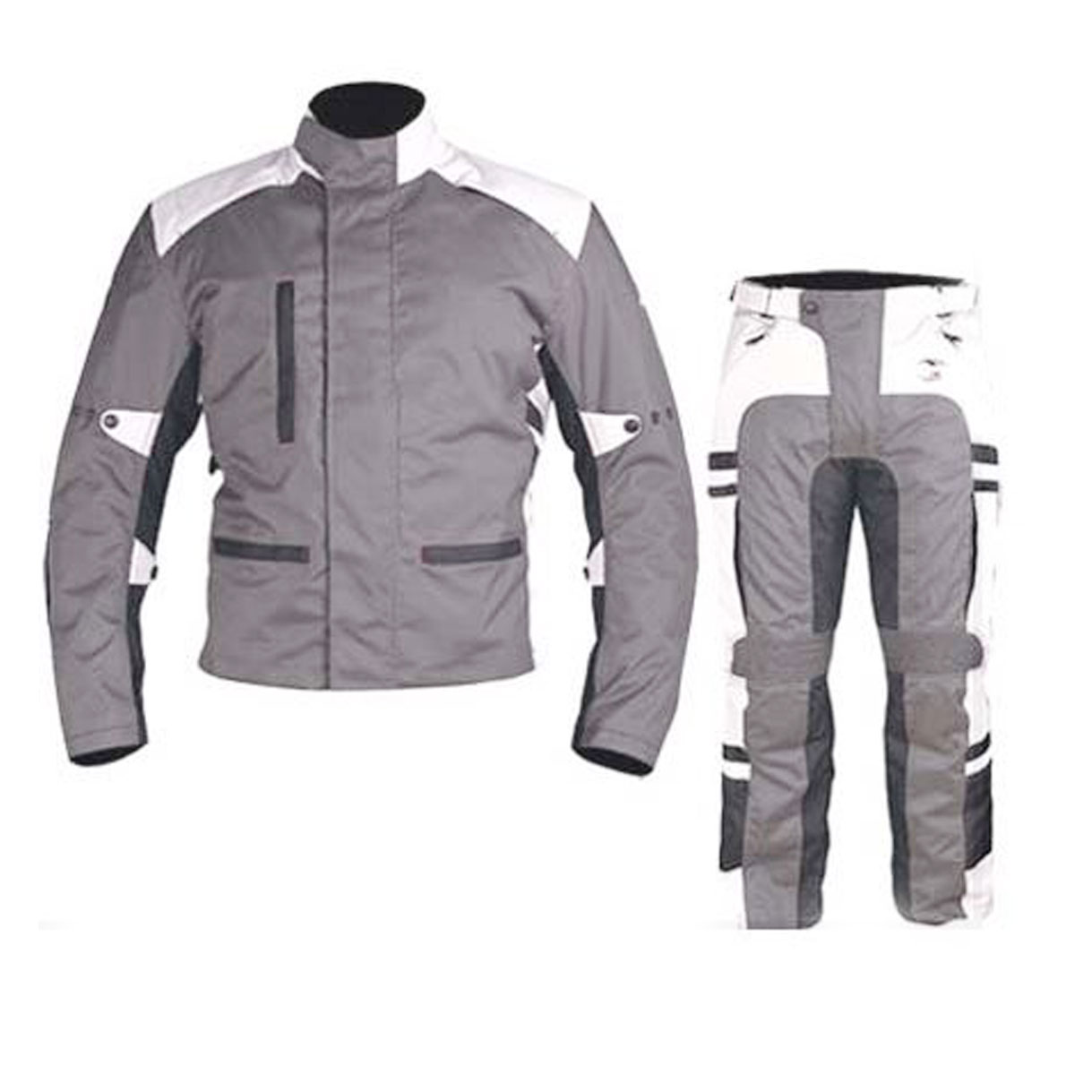 GREY & WHITE CORDURA SUIT