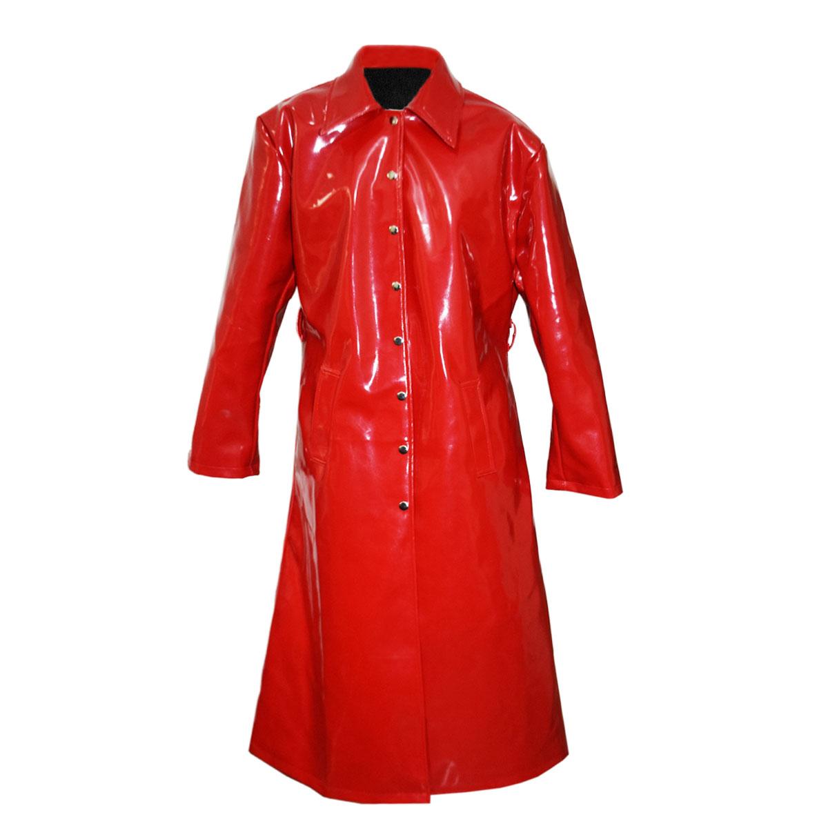 RED RAIN SUIT