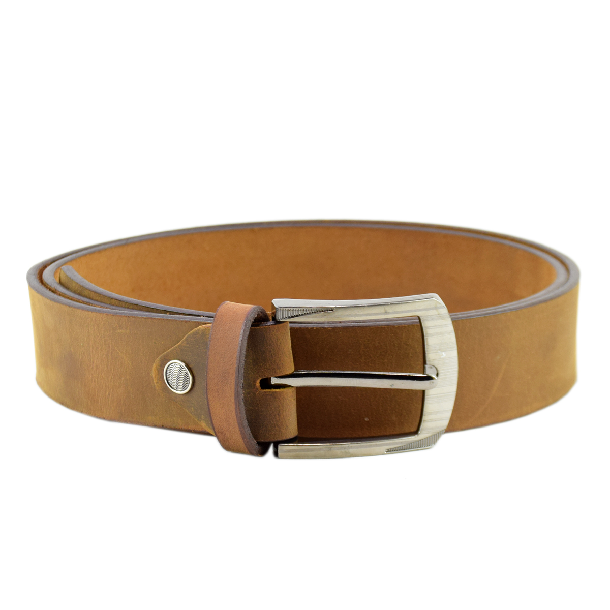 Brown Leather Belt (Formal to Casual) 1.5""