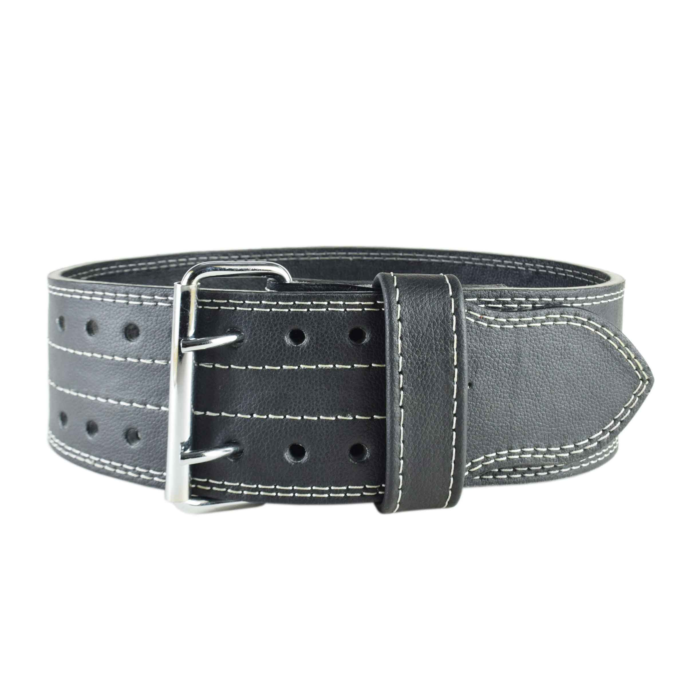 SHINY BLACK WEIGHTLIFTING BELT