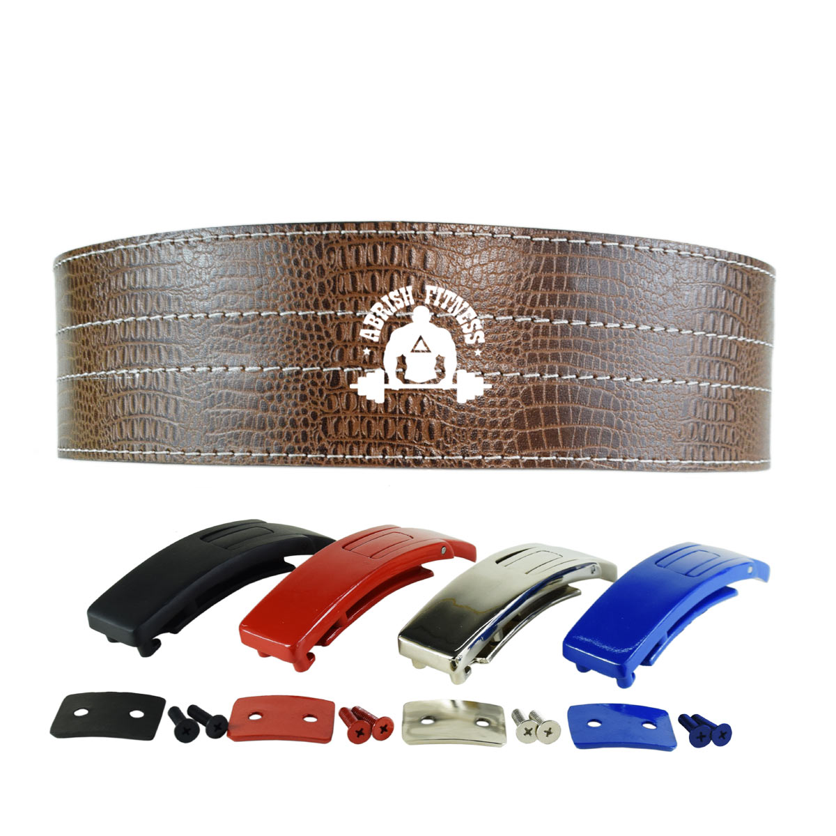 BROWN LEVER BELT