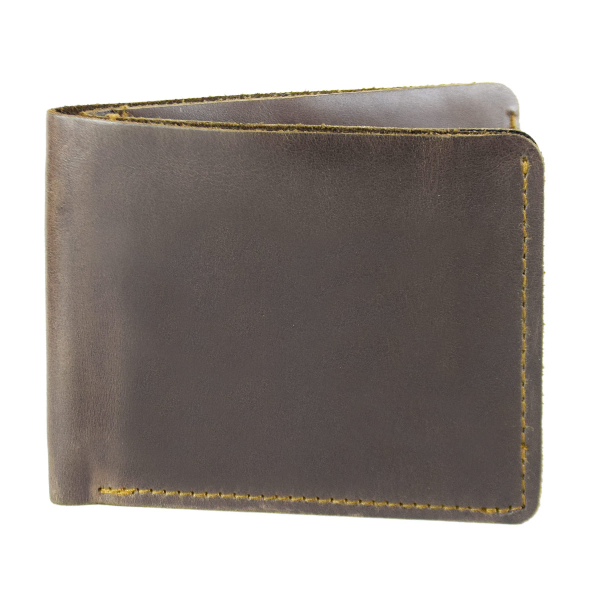 ANTIQUE BROWN WALLET WITH UNIQUE POCKETS