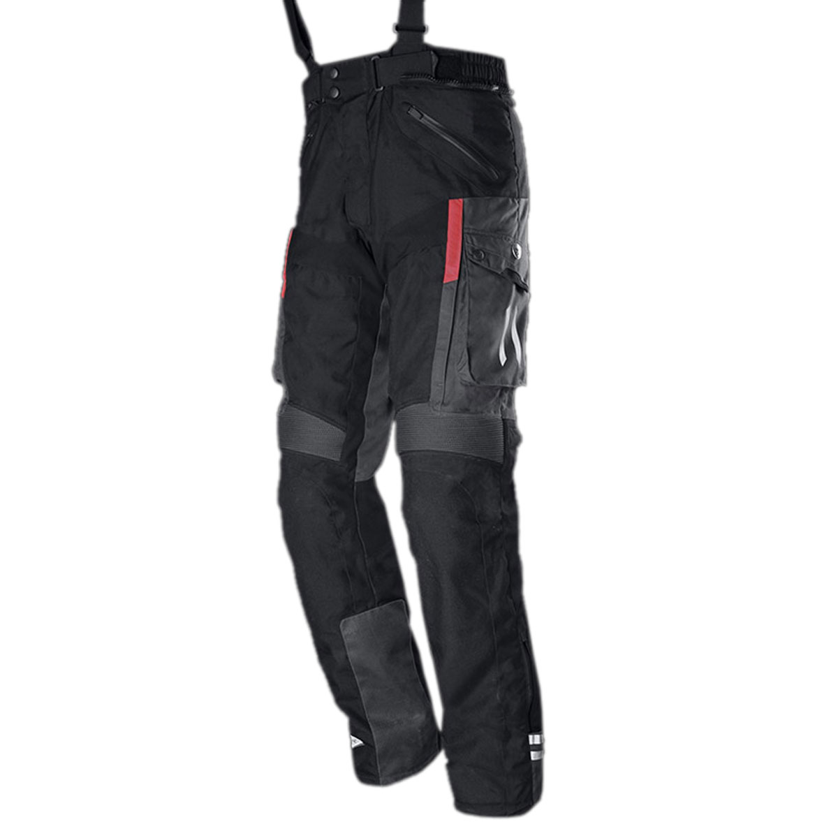BLACK FEMALE CORDURA PANT WITH ZIP