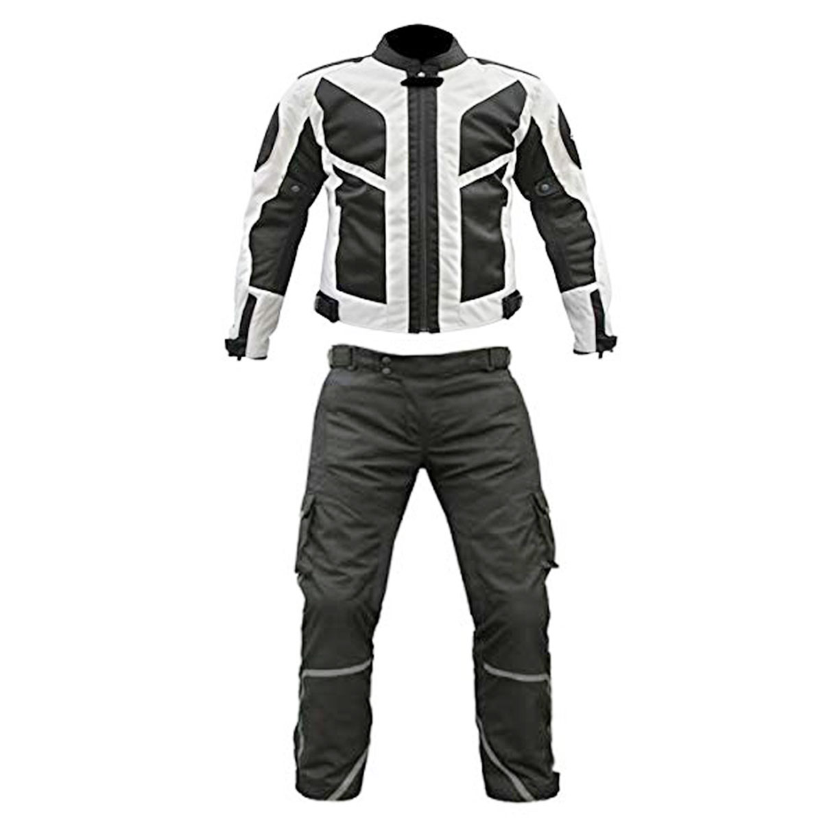 UNIQUE BLACK & WHITE CORDURA SUIT