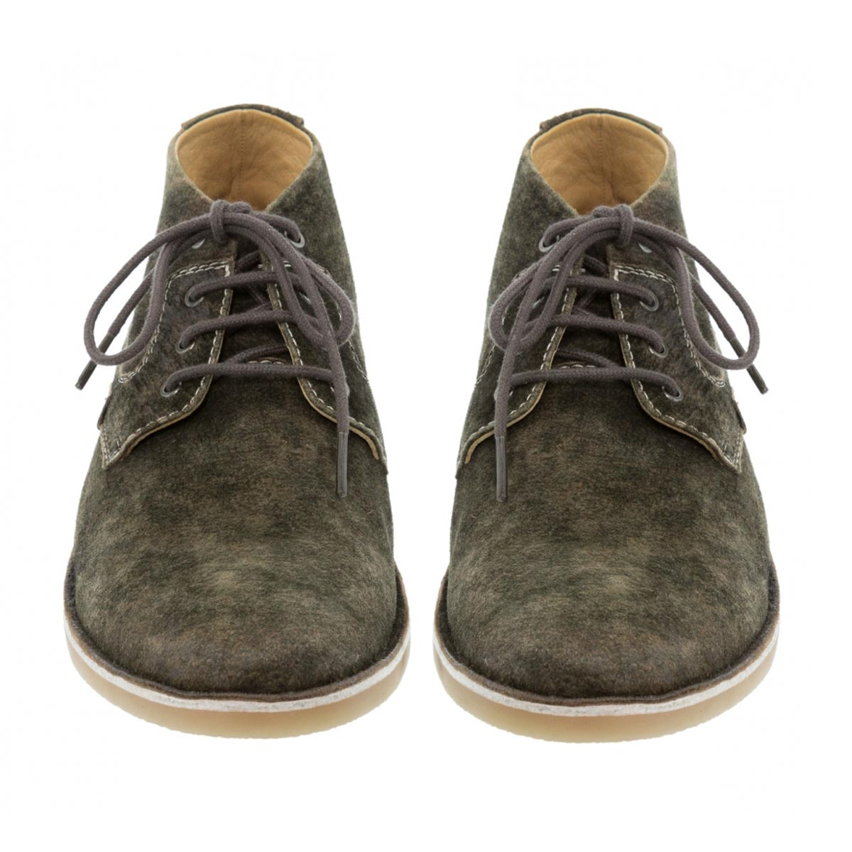 GREENISH BROWN MENS SHOES
