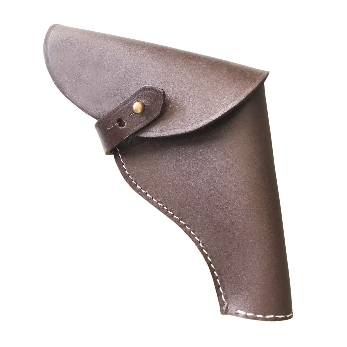 DARK BROWN COWBOY HOLSTER FOR SHORT GUN