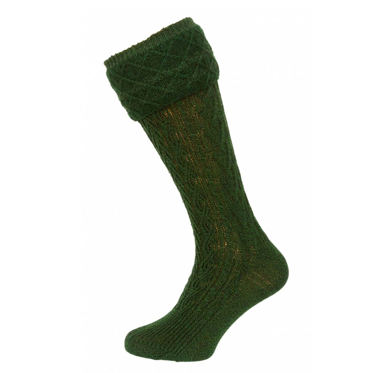 DARK GREEN MEN SOCKS