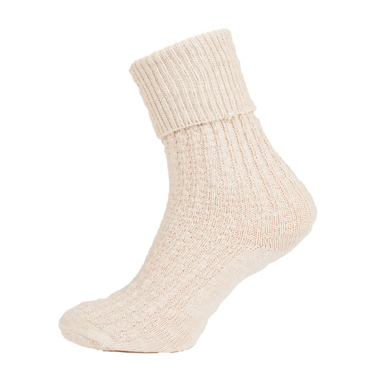 SIMPLE LIGHT BROWN FEMALE SOCKS