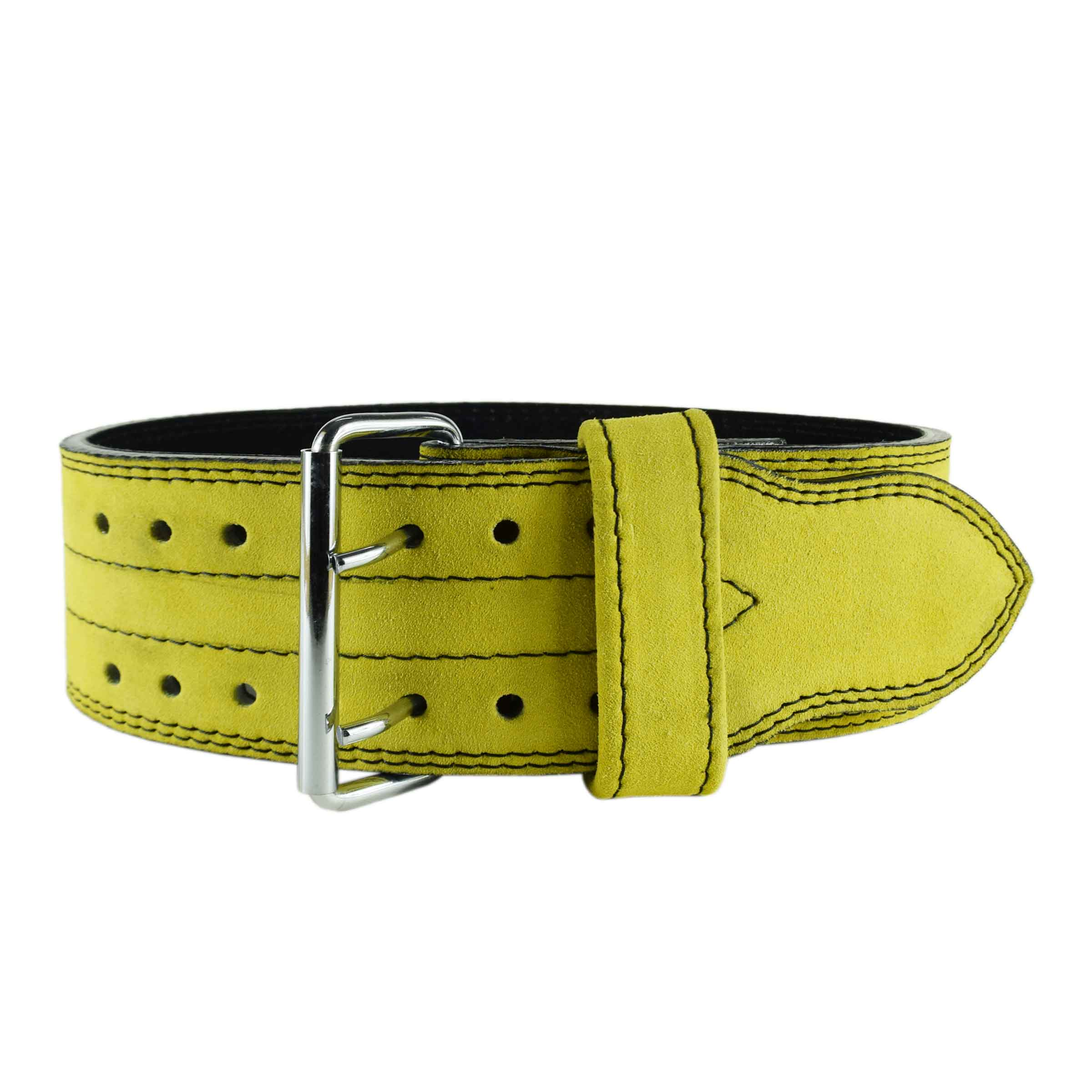 YELLOW WEIGHTLIFTING BELT